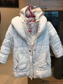 M&S 3-4 years girls coat
