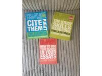 Huge bundle of study skills degree books