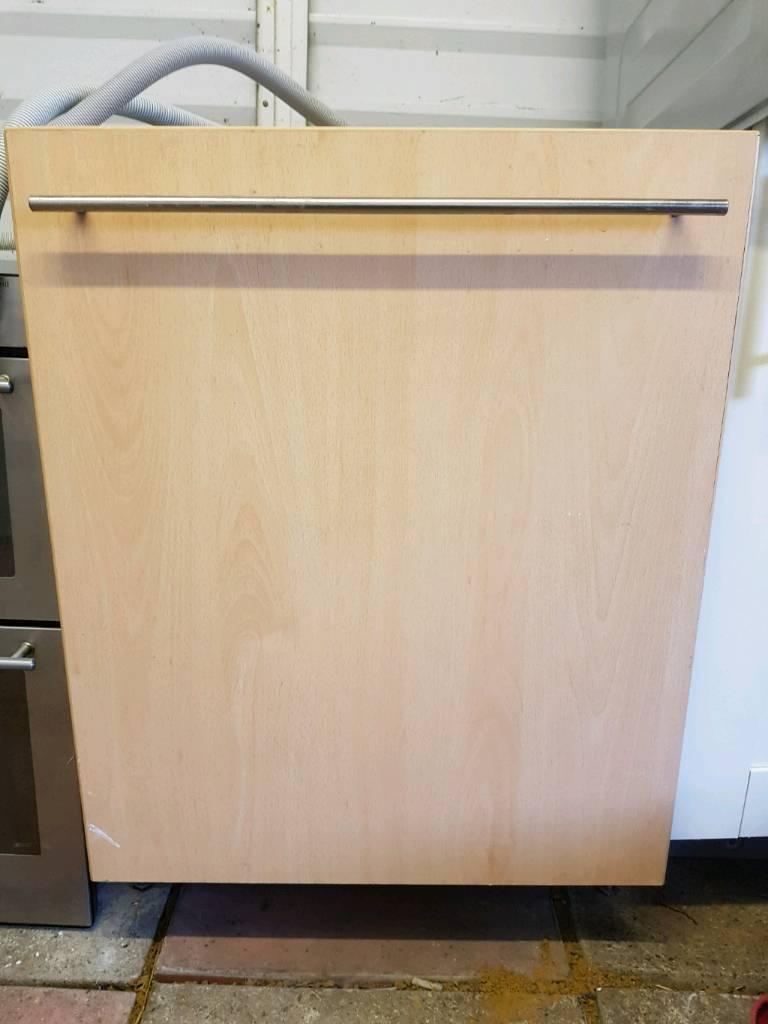 Beko integrated dishwasher delivered and installed today