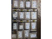 Various Hard Drive (ultra320 SCSI SAS SATA)