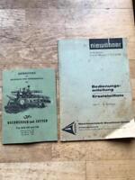 Anweisung JF HSR 200 u. 240 + Bedienungsanleitung Niewöhner in Sittensen