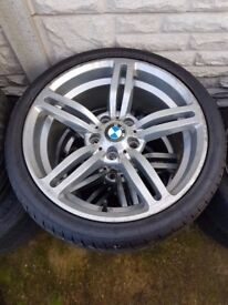 Bmw M6 18'' Silver Alloy Can Post