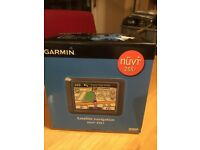 Garmin 255t Satnav new and boxed with UK and European maps.
