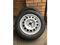 Snow / Mud / Offroad Tyres on Steel Wheels for MINI (2003+) or similar 195/60 R 15