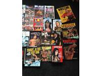 Wwe wwf wrestling books magazines rare x160