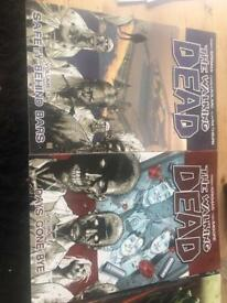 Walking dead graphic novels volume 1 and 2