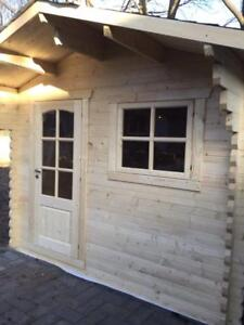 Solid Pine Tiny Timber Home,garden shed, bunkie - SPRING BLOWOUT SALE