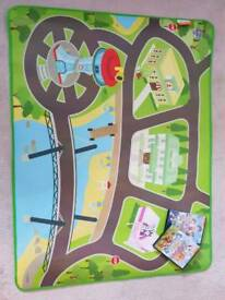 Paw Patrol Mat with 2 DVDs