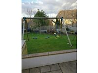 Swings and See-Saw outdoor set