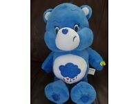 As New Singing Care Bear Sing A Long Grumpy £10 ideal gift blue care bear
