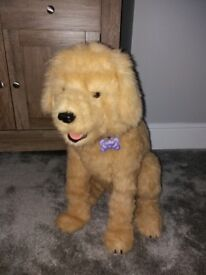 Fur real interactive toy dog