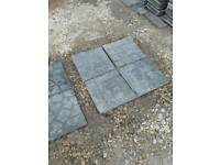 Paving slabs, cobble effect. Over 12m2