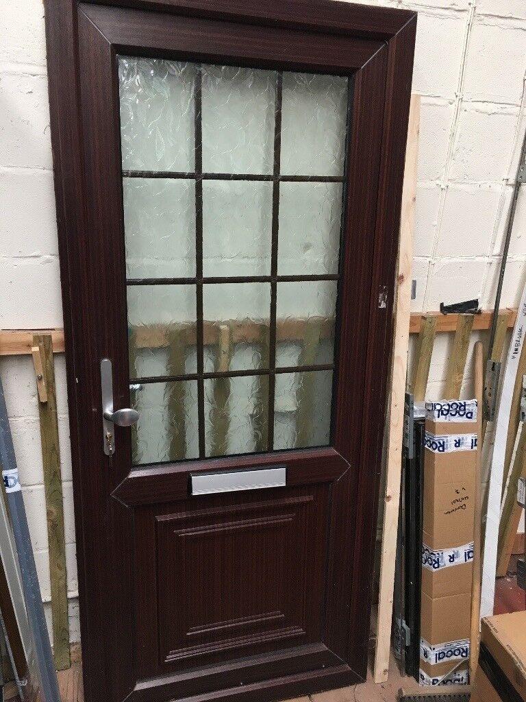 Rosewood Upvc Front Door In Gosport Hampshire Gumtree