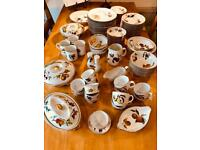 """50+ set of Royal Worcester """"Evesham"""" Oven To Tableware Porcelain"""
