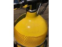 Scuba twin set cylinder