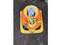 Chicco 123 Activity Centre Baby Walker - Orange