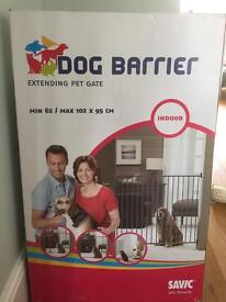 Gate barrier for dog or child