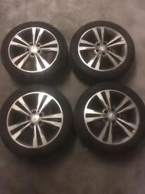 """Mercedes 17"""" E A C CLASS WHEELS AND TYRES W212 W204 W176"""