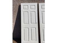 White Primed Wooden Doors BQ