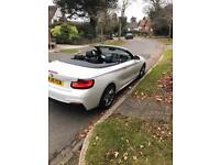 BMW 2 SERIES 220d MSPORT CONVERTIBLE AUTOMATIC