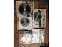 Circular saw blades, Bosch, 170,190,210mm various