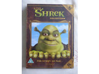 NEW - THE SHREK COLLECTION DVDS