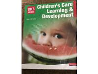 Btec childcare textbook