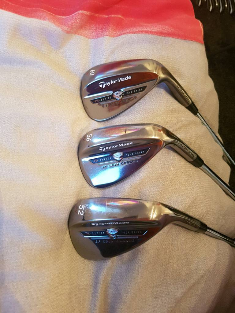 Taylormade ef spin wedge set