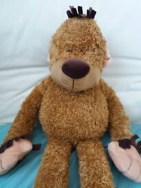Large cuddly monkey toy approx 85cm tall