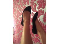 Well worn shoes stiletto and other for sale email for more info