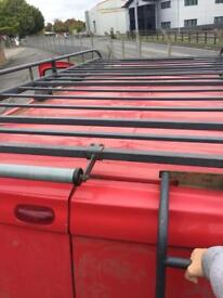 Rhino roof rack off a Renault trafic LWB