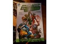 New 52 dc green lantern comic