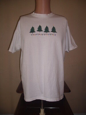 Christmas T Shirts With Lights (T-SHIRT - MEN'S LARGE (L) - CHRISTMAS TREES WITH)