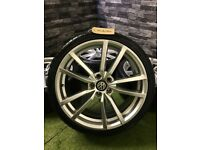 """19"""" VW Golf R GTD GTI Pretoria Style Alloy Wheels Scirocco Caddy Seat Audi"""