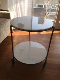 White sofa table/coffee table