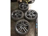 Seat Leon cupra r alloy wheels 5x100