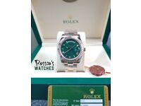 Rossco's Watches. Gold Rolex Day Date. 60th Anniversary Edition. New and Boxed with Paperwork