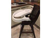 Baby high chair , door bouncer etc