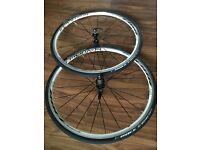 Bontrager Race 700c wheelset [front & rear] plus Bontrager Race tyres