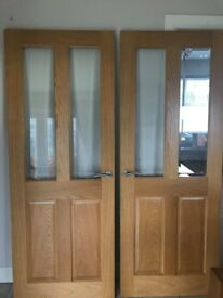 Oak double door for sale
