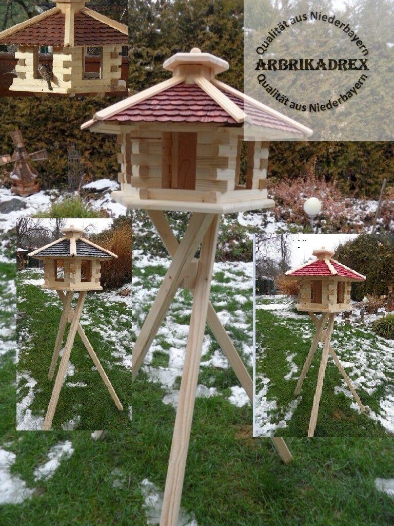 Vogel Vogelhaus mit Ständer Vogelhäuschen Futterhaus Futterhäuschen Futtersilo