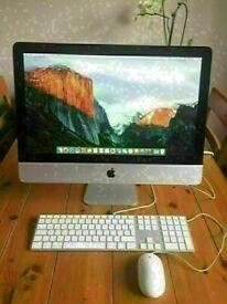 Apple iMac 21.5' 3.06Ghz Core i3 4GB Ram 500GB HDD Logic Pro X Ableton 10 Cubase iZoTope Waves