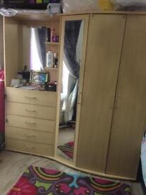 Large wardrobe offers plz