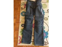 "Spidi motorcycle jeans 34"" waist great condition"