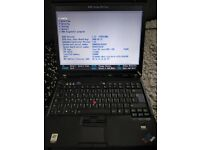 IBM ThinkPad T60 LAPTOP 1.83GHz Core 2 Duo Mobility Radeon X1300 80 GB HDD 2GB RAM WIN XP