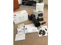Canon 7d mk2 and grip and tamron 100-400vc boxed