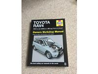 Toyota RAV4 Haynes Manual