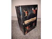 Pirates of the Caribbean Quadrilogy 1-4 Box Set