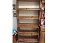 Ikea Leksvik Pine Bookcase