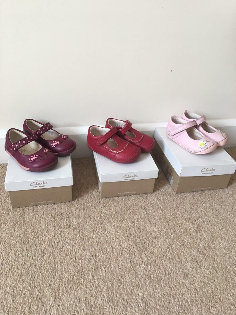Clarks baby girls shoes